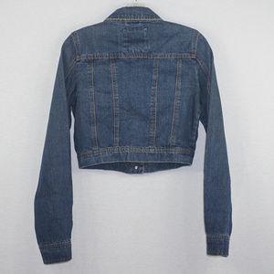 Mossimo Supply Co. Jackets & Coats - Mossimo cropped denim jean jacket EUC S